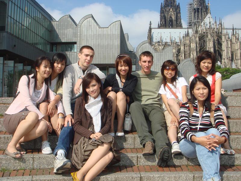 SV tham gia khoa hoc tieng tai Đức