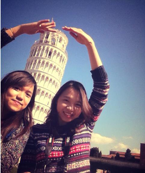 Sinh viên HANU tại Italia