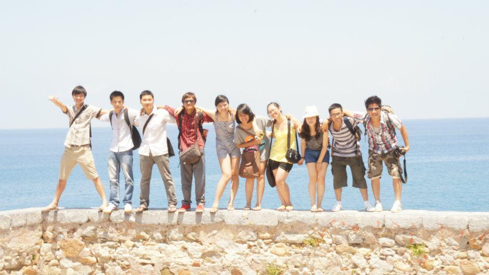 Nhóm sinh viên HANU đầu tiên tại Italia theo chương trình ghi danh Đại học và Thạc sĩ 2011-2012