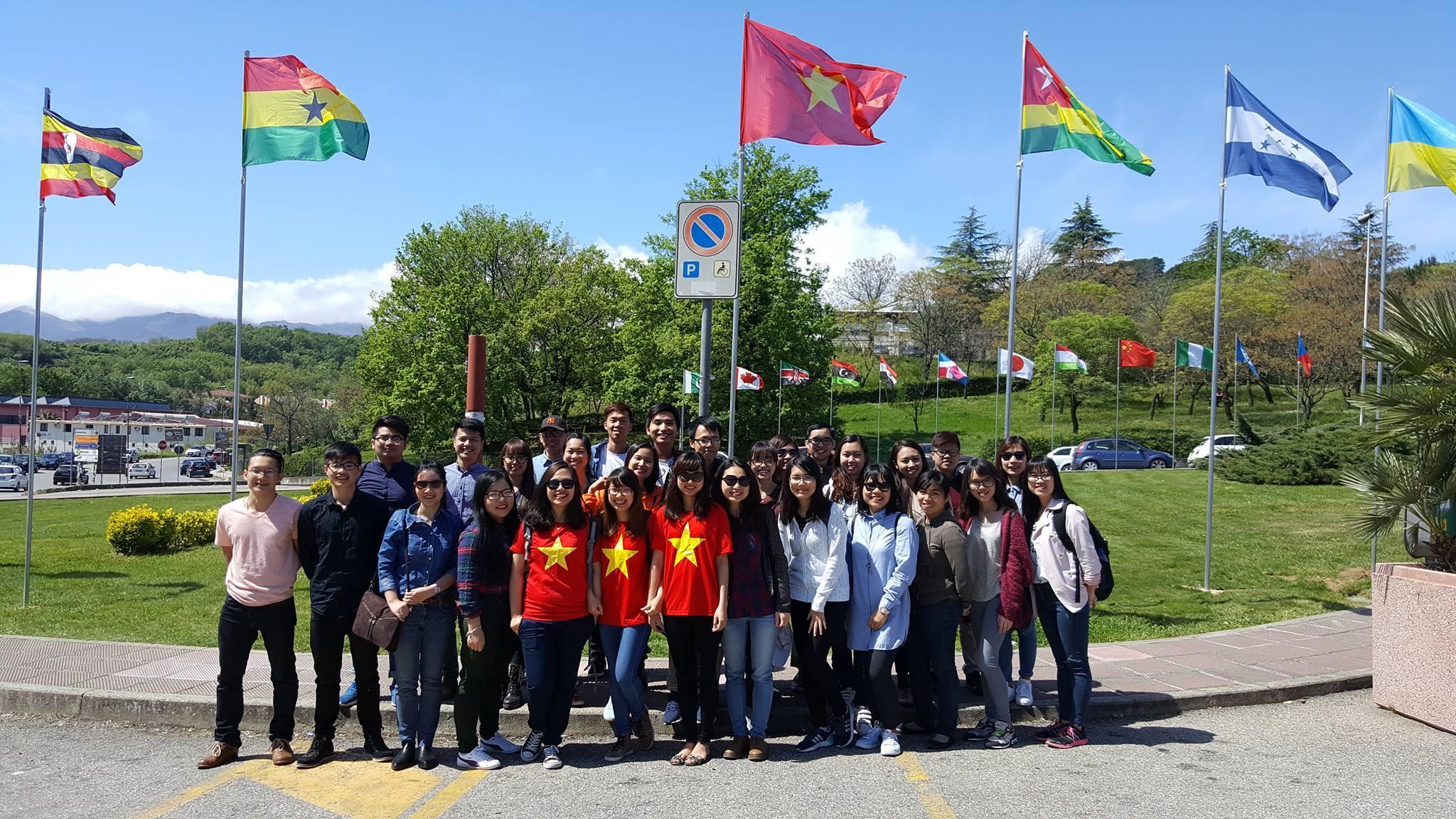 Sinh viên HANU tại ĐH Calabria
